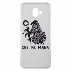 Чехол для Samsung J6 Plus 2018 Giff Me Mana