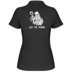 Женская футболка поло Giff Me Mana - FatLine