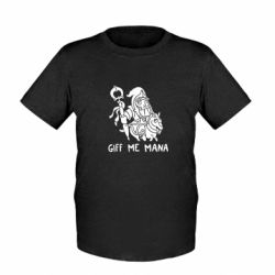 Детская футболка Giff Me Mana - FatLine