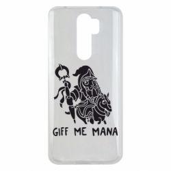Чехол для Xiaomi Redmi Note 8 Pro Giff Me Mana