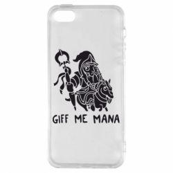 Чехол для iPhone5/5S/SE Giff Me Mana