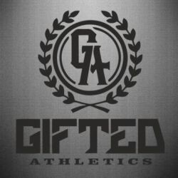 Наклейка Gifted Athletics