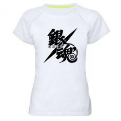 Жіноча спортивна футболка Gintama