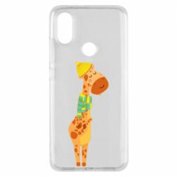 Чехол для Xiaomi Mi A2 Giraffe in a scarf
