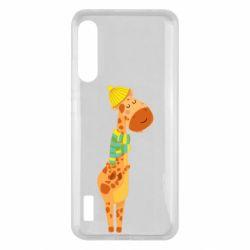 Чохол для Xiaomi Mi A3 Giraffe in a scarf