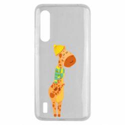 Чехол для Xiaomi Mi9 Lite Giraffe in a scarf