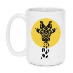 Кружка 420ml Giraffe Polygon Art