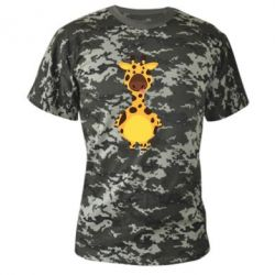 Камуфляжна футболка Giraffe