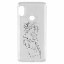Чехол для Xiaomi Redmi Note 5 Girl after a shower