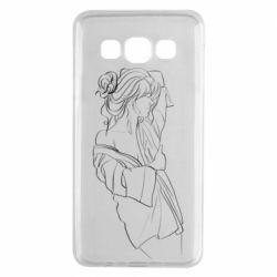 Чехол для Samsung A3 2015 Girl after a shower