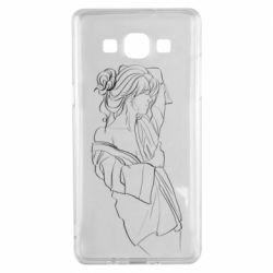 Чехол для Samsung A5 2015 Girl after a shower