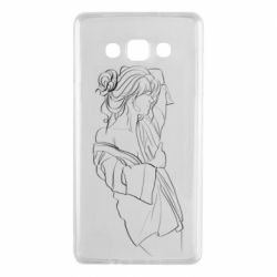 Чехол для Samsung A7 2015 Girl after a shower