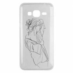 Чехол для Samsung J3 2016 Girl after a shower