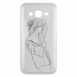 Чехол для Samsung J5 2015 Girl after a shower