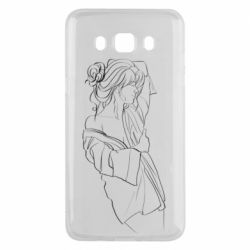 Чехол для Samsung J5 2016 Girl after a shower