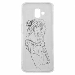Чехол для Samsung J6 Plus 2018 Girl after a shower