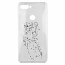 Чехол для Xiaomi Mi8 Lite Girl after a shower