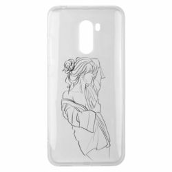 Чехол для Xiaomi Pocophone F1 Girl after a shower