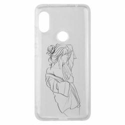 Чехол для Xiaomi Redmi Note 6 Pro Girl after a shower