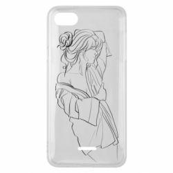 Чехол для Xiaomi Redmi 6A Girl after a shower