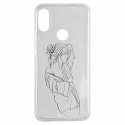 Чехол для Xiaomi Redmi Note 7 Girl after a shower