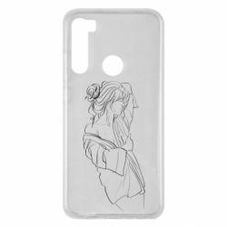Чехол для Xiaomi Redmi Note 8 Girl after a shower