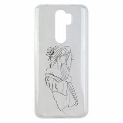 Чехол для Xiaomi Redmi Note 8 Pro Girl after a shower