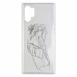 Чехол для Samsung Note 10 Plus Girl after a shower