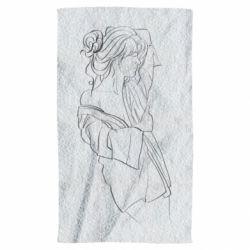Полотенце Girl after a shower