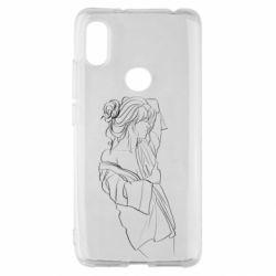 Чехол для Xiaomi Redmi S2 Girl after a shower