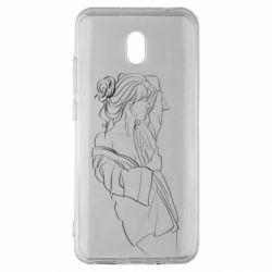 Чехол для Xiaomi Redmi 8A Girl after a shower