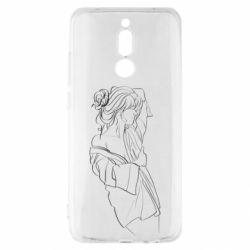 Чехол для Xiaomi Redmi 8 Girl after a shower