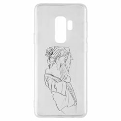 Чехол для Samsung S9+ Girl after a shower