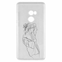 Чехол для Xiaomi Mi Mix 2 Girl after a shower