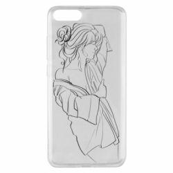 Чехол для Xiaomi Mi Note 3 Girl after a shower