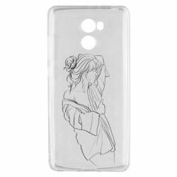 Чехол для Xiaomi Redmi 4 Girl after a shower