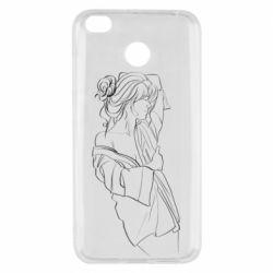 Чехол для Xiaomi Redmi 4x Girl after a shower
