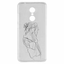 Чехол для Xiaomi Redmi 5 Girl after a shower