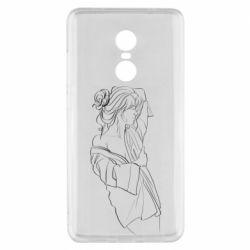 Чехол для Xiaomi Redmi Note 4x Girl after a shower