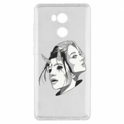Чехол для Xiaomi Redmi 4 Pro/Prime Girl and demon