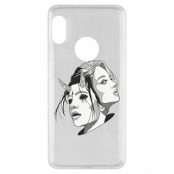 Чехол для Xiaomi Redmi Note 5 Girl and demon