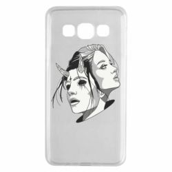 Чехол для Samsung A3 2015 Girl and demon