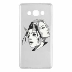 Чехол для Samsung A7 2015 Girl and demon