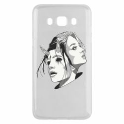 Чехол для Samsung J5 2016 Girl and demon