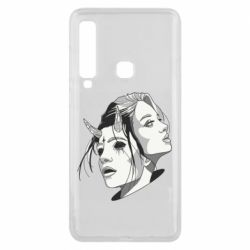 Чехол для Samsung A9 2018 Girl and demon