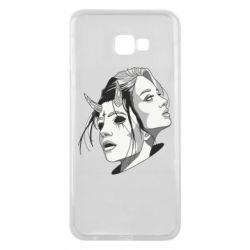 Чехол для Samsung J4 Plus 2018 Girl and demon
