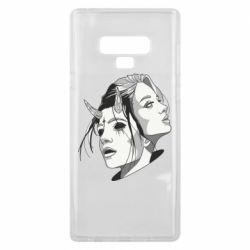 Чехол для Samsung Note 9 Girl and demon