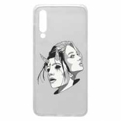 Чехол для Xiaomi Mi9 Girl and demon