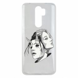 Чехол для Xiaomi Redmi Note 8 Pro Girl and demon