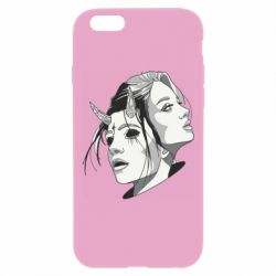 Чехол для iPhone 6 Plus/6S Plus Girl and demon